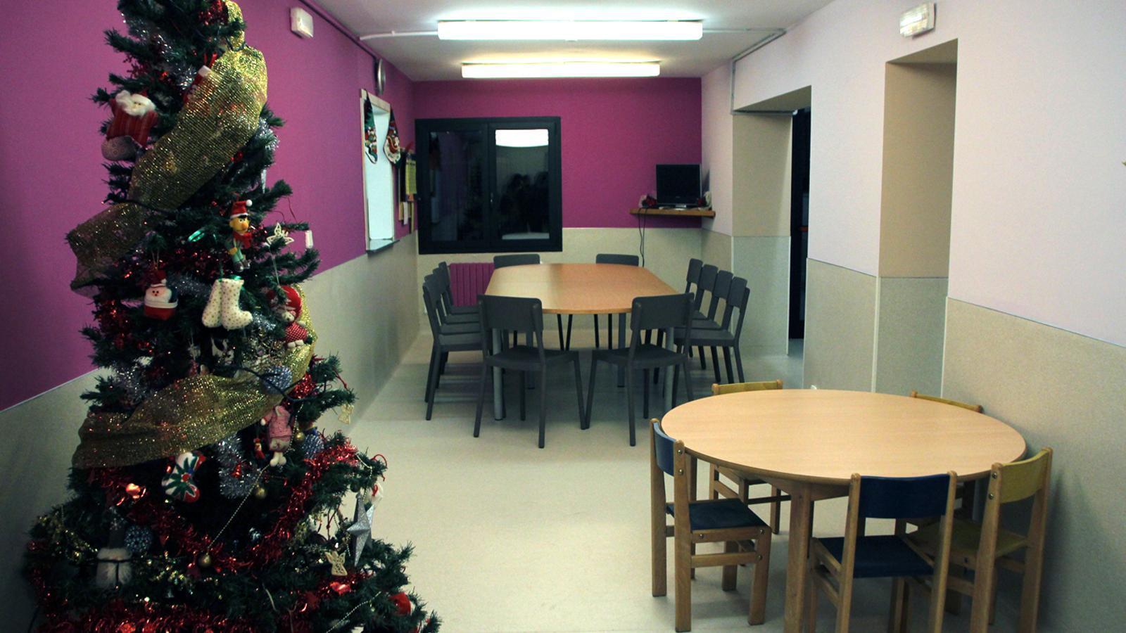 Una imatge del centre d'acollida La Gavernera. / ARXIU ANA