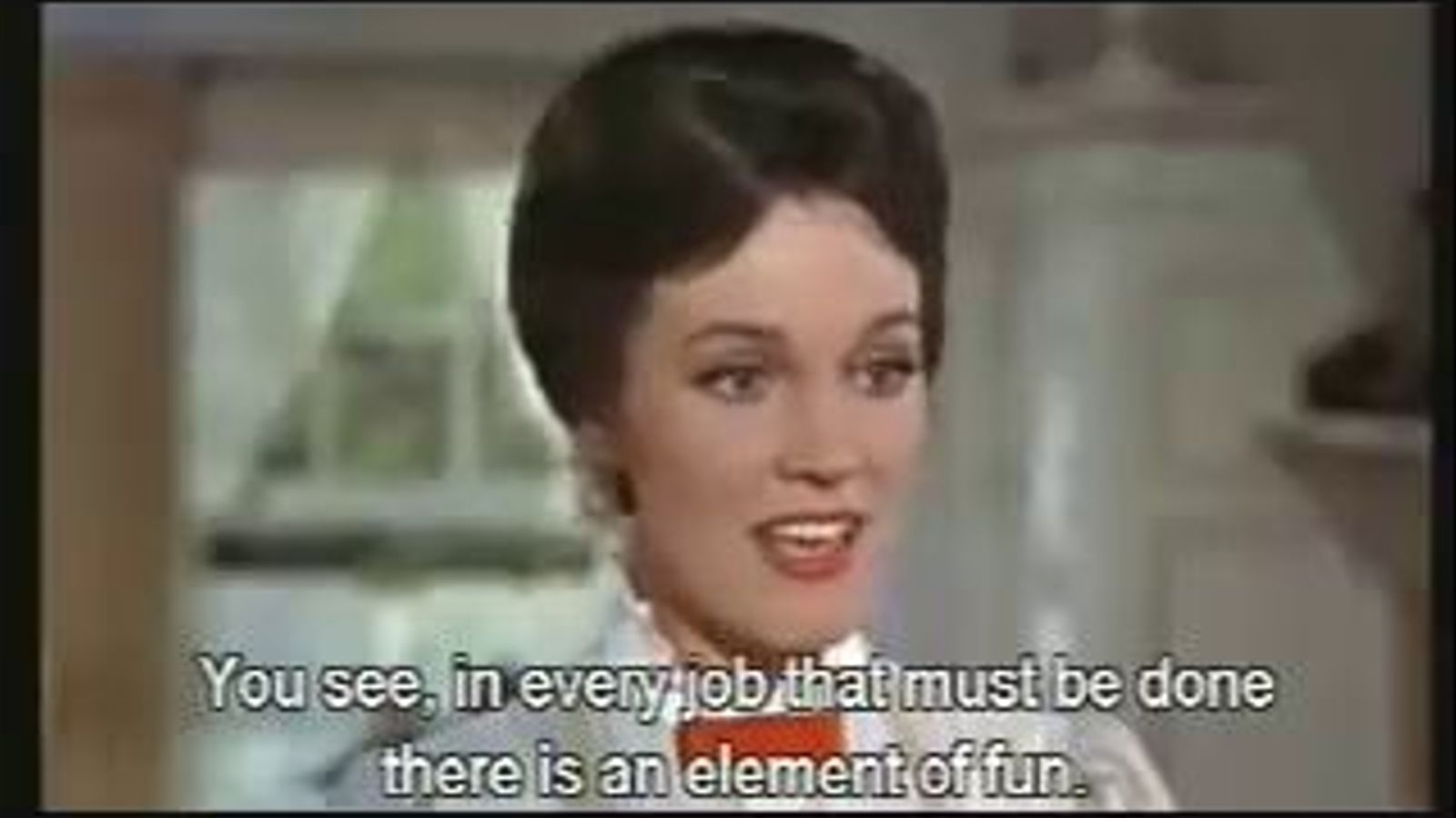 'A spoonful of sugar', de la banda sonora de 'Mary Poppins', composada per Robert Sherman