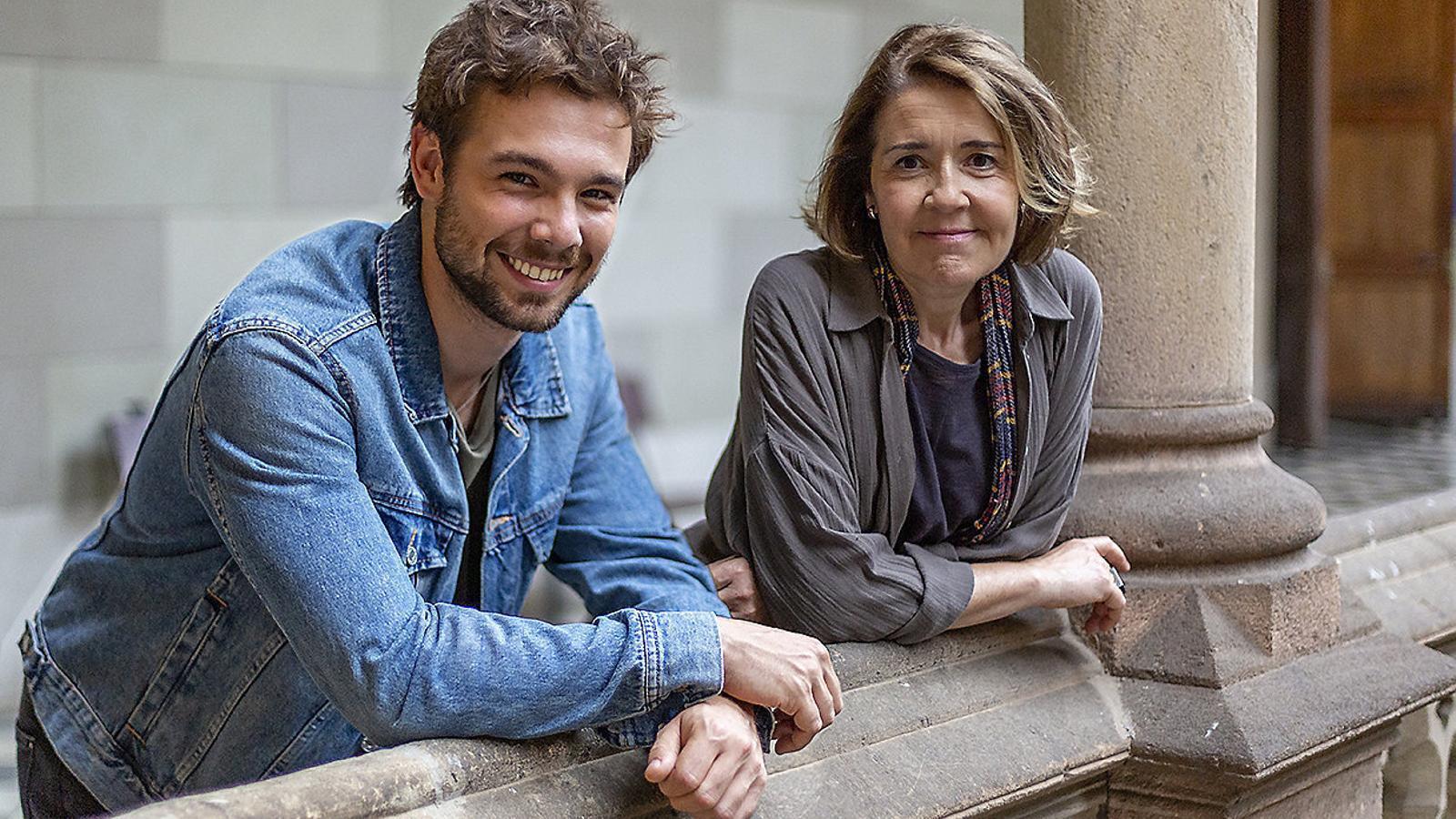 Carlos Cuevas i María Pujalte protagonitzen Merlí: sapere aude, que aquesta nit arriba a TV3.