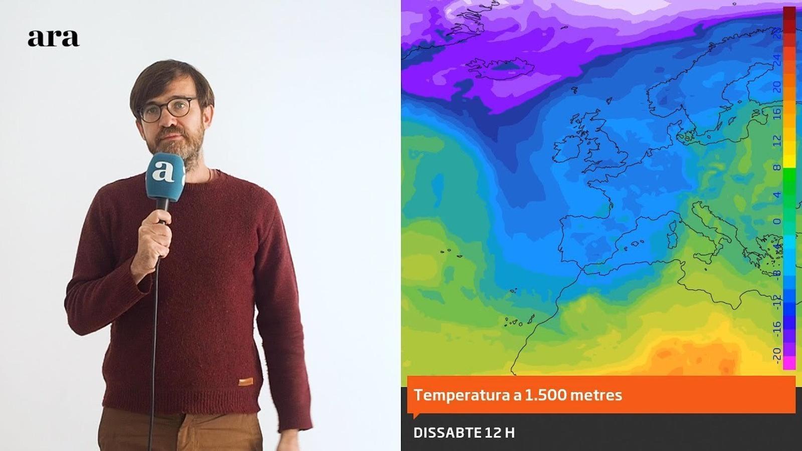 La méteo: neu a cotes baixes, vent i un fred que encara anirà a més