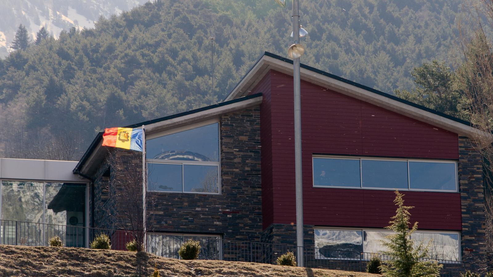 Vista exterior de les instal·lacions de la Comella. / D.R.