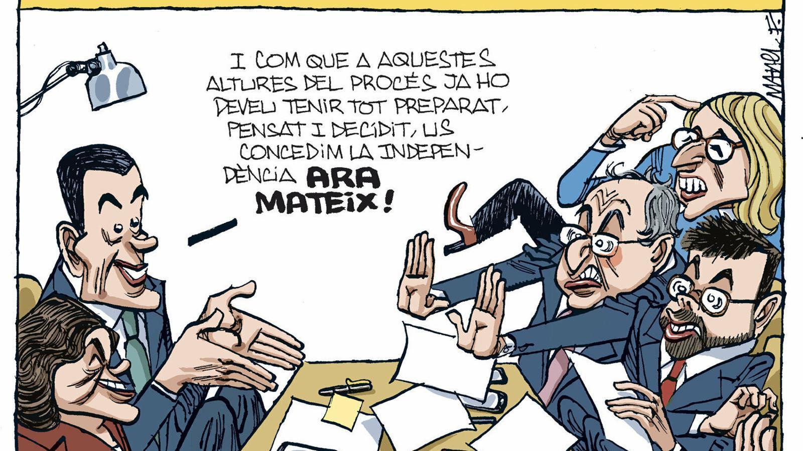 La vinyeta de Manel Fontdevila 01/03/2020