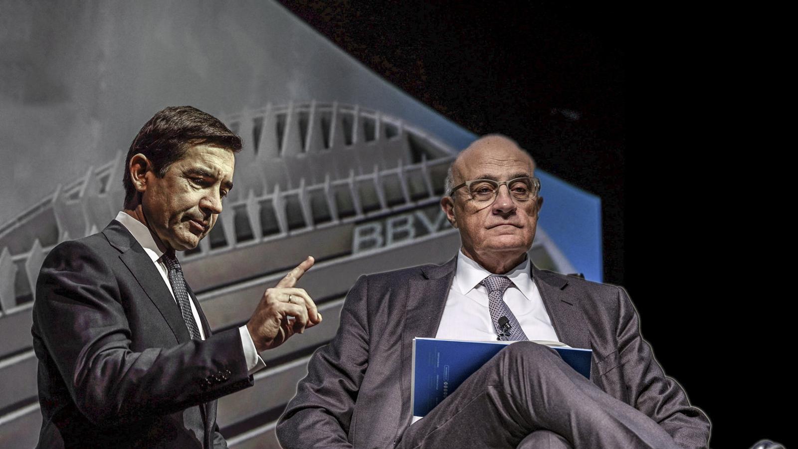 BBVA negocia amb el Banc Sabadell per ser líder a Catalunya