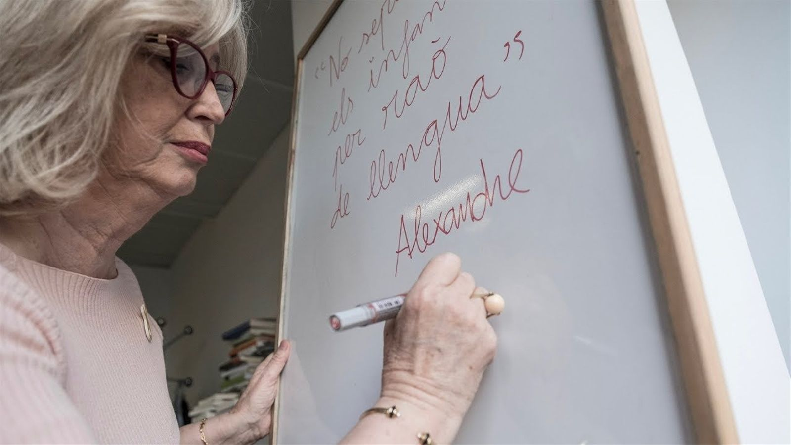 """Irene Rigau: """"L'escola catalana «fabrica» ciutadans de Catalunya oberts al món"""""""
