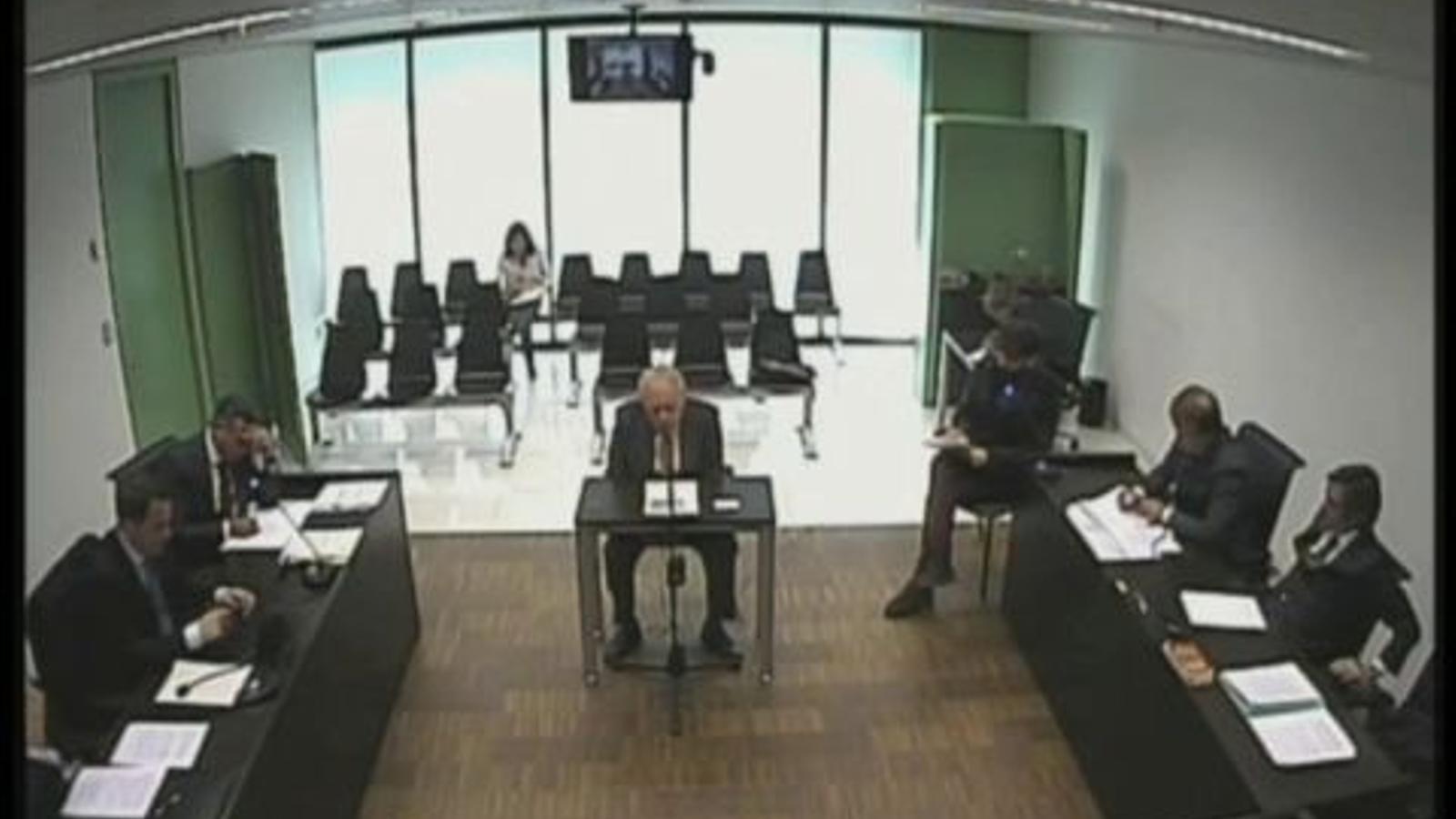 Jordi Pujol, al jutjat: No volia saber perquè em feia por el tema