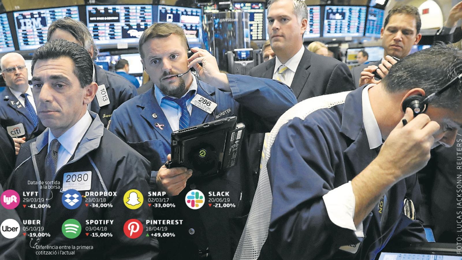 Els 'unicorns' sense guanys s'instal·len a Wall Street