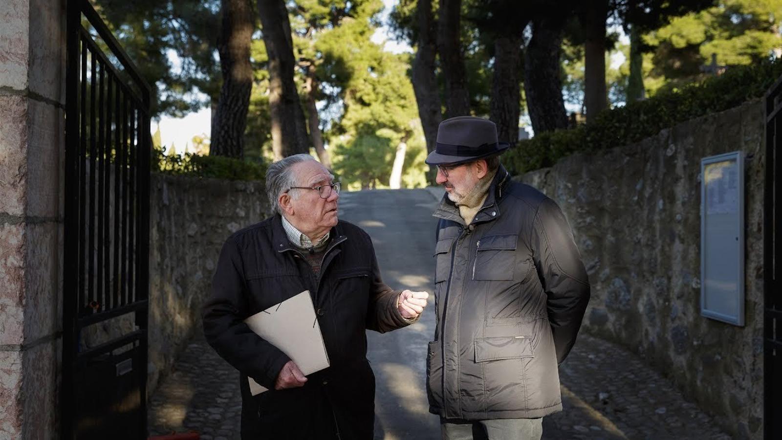 Visitant Fabra a Prada de Conflent