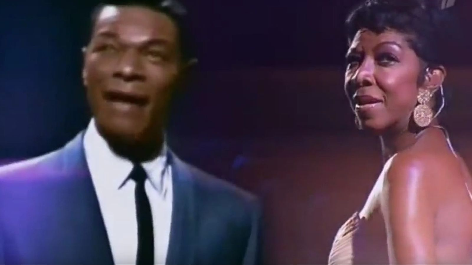 Natalie Cole canta 'Unforgettable'