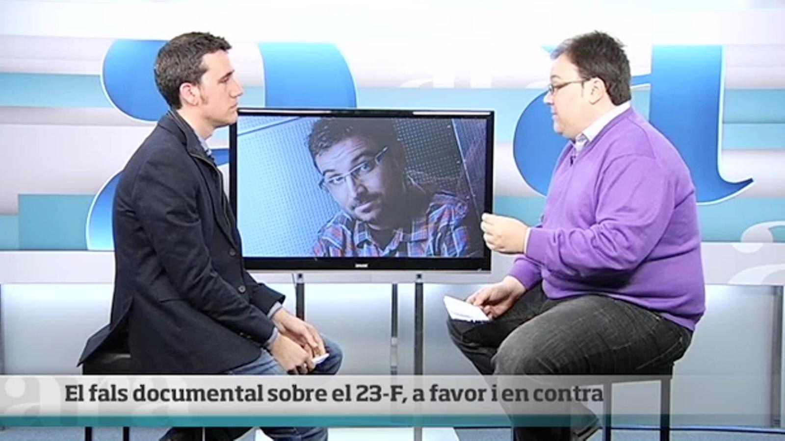 Cara a cara: el fals documental de Jordi Évole sobre el 23-F, a favor i en contra
