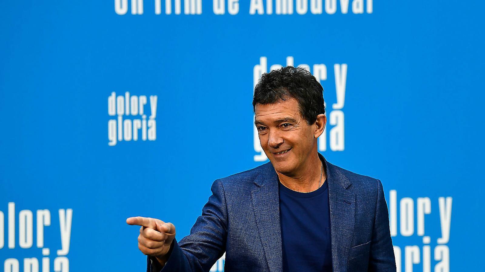 """Antonio Banderas: """"Als anys 80 treballar en una pel·lícula d'Almodóvar era jugar-te-la"""""""