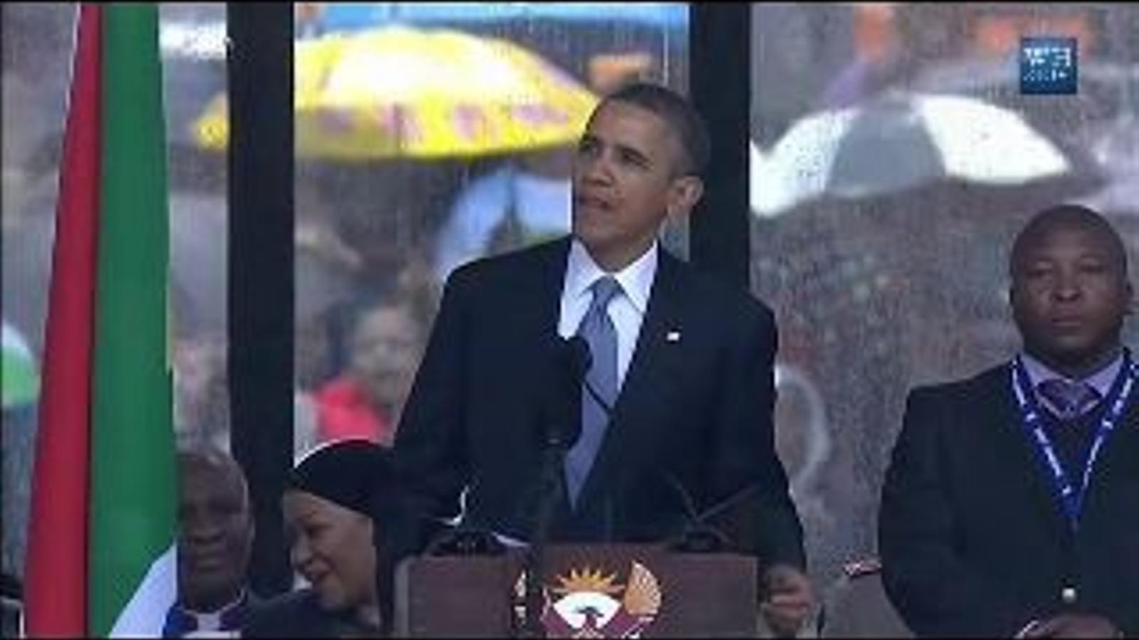 El discurs d'Obama en el funeral de Nelson Mandela