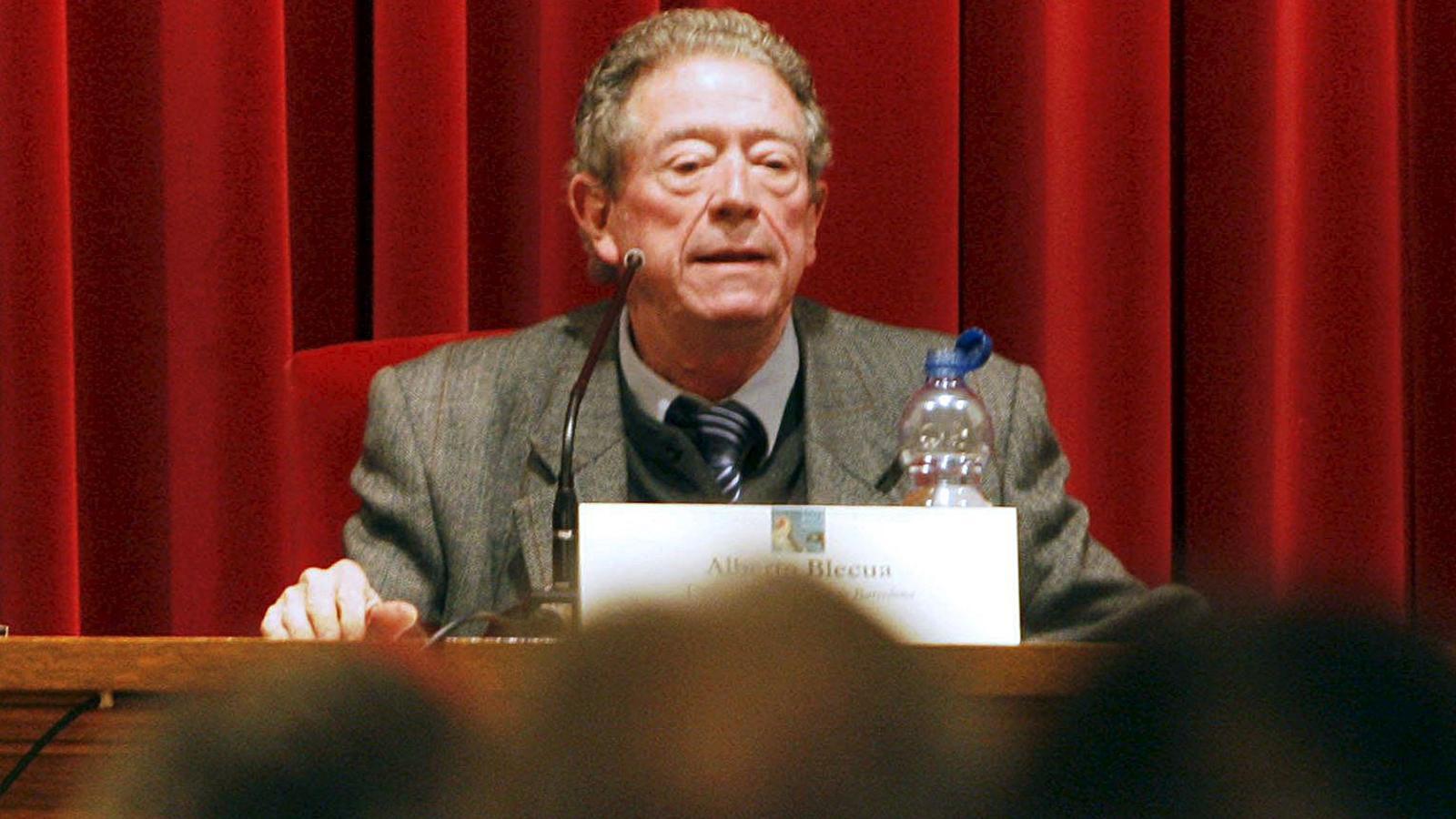 El filòleg Alberto Blecua en una imatge d'arxiu