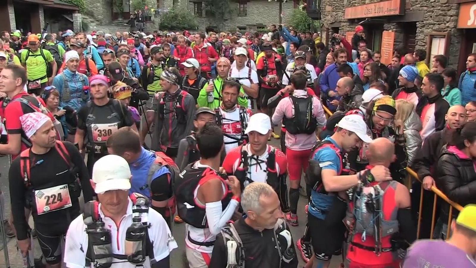 Les millors imatges i declaracions dels guanyadors de l'Ultra Trail