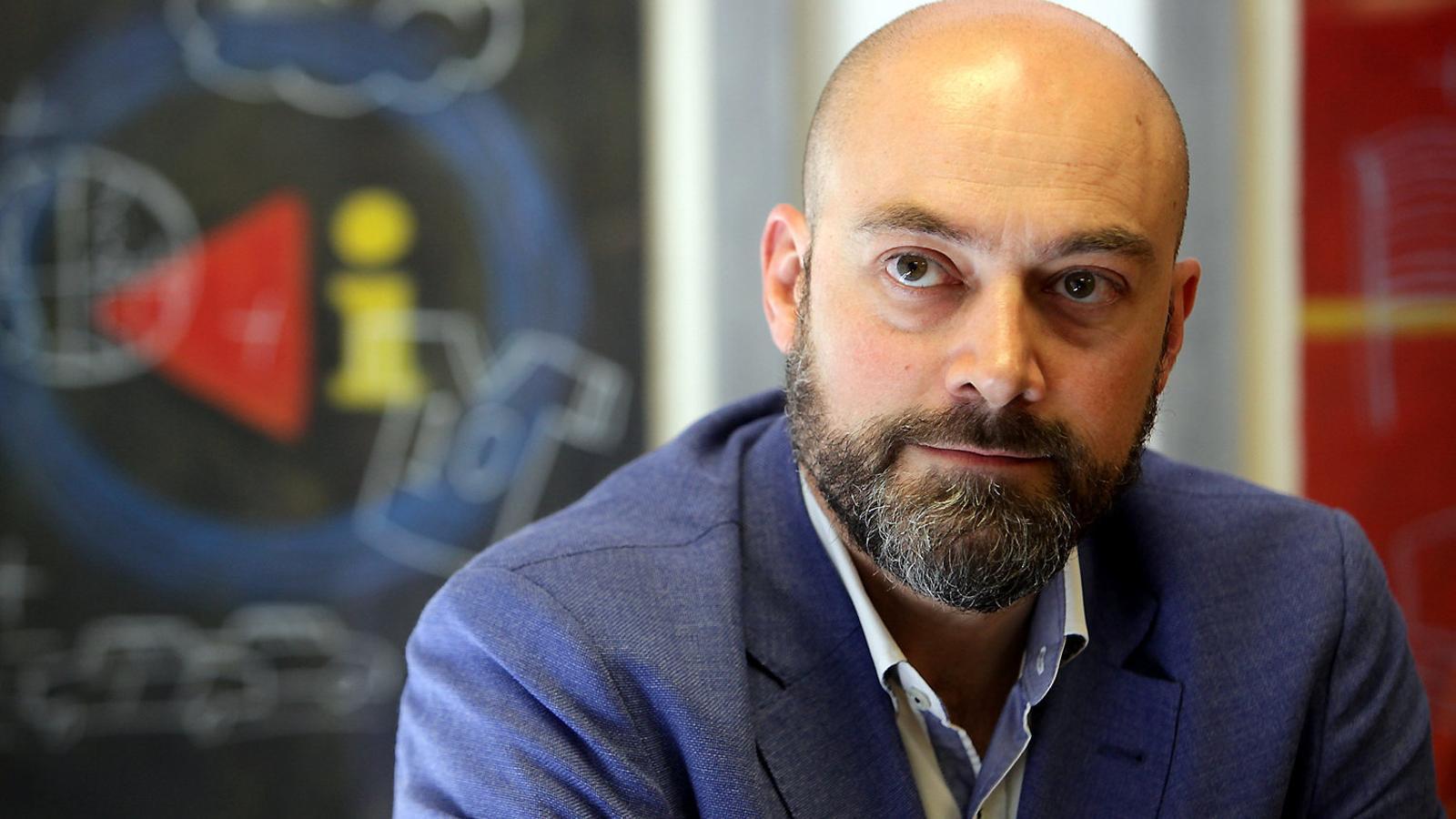 Saül Gordillo, director de Catalunya Ràdio, va explicar els canvis que hi haurà a iCat durant la sessió de control parlamentari a la Corporació celebrada ahir.