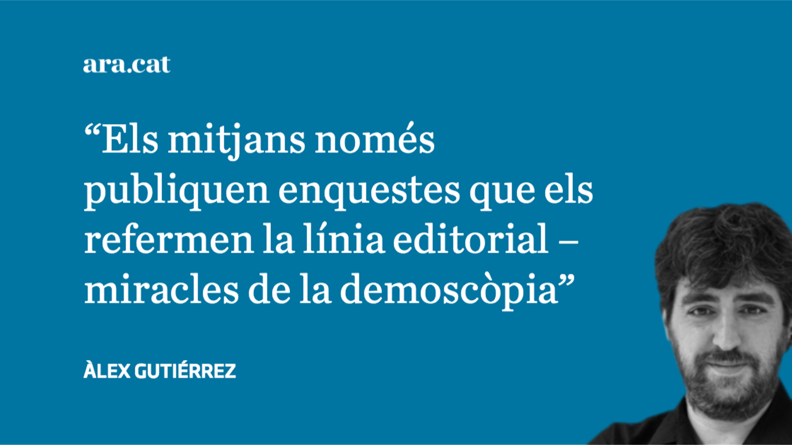 Un atac de maragallisme a 'El Periódico'