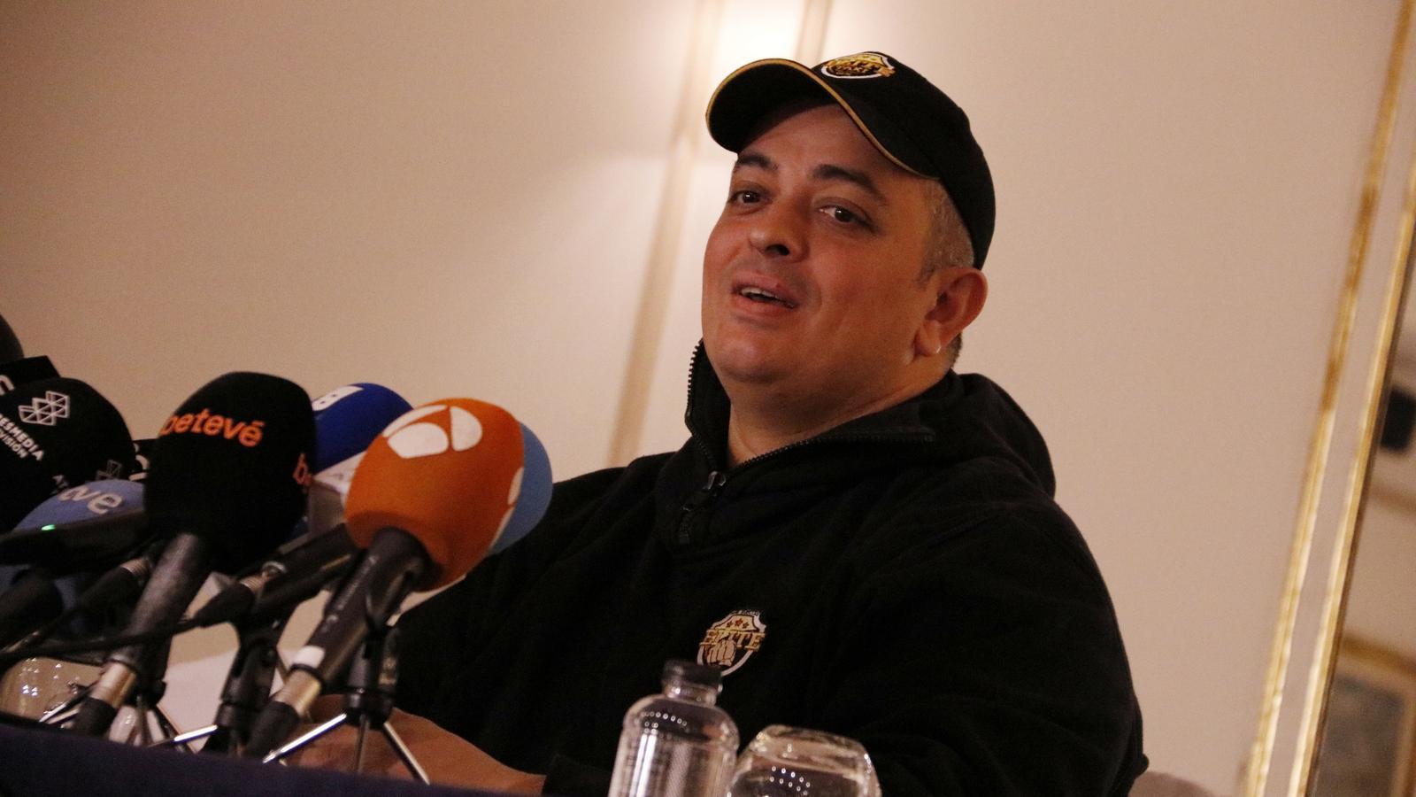 """Tito Álvarez: """"Si la Generalitat no compleix la seva paraula tornarem al carrer molt aviat"""""""