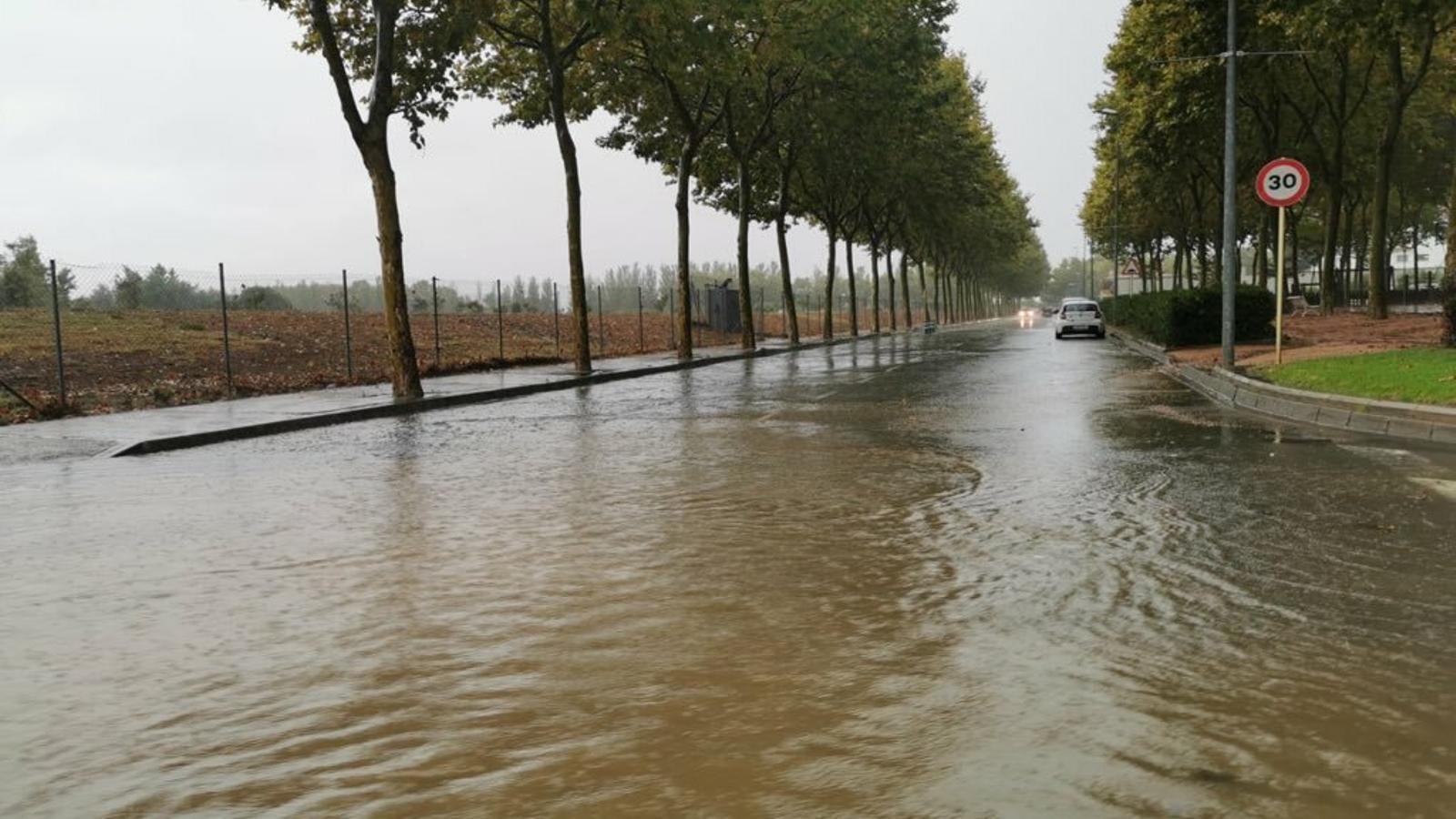 Els aiguats han deixat més de 100 l/m2 a punts de la Costa Brava