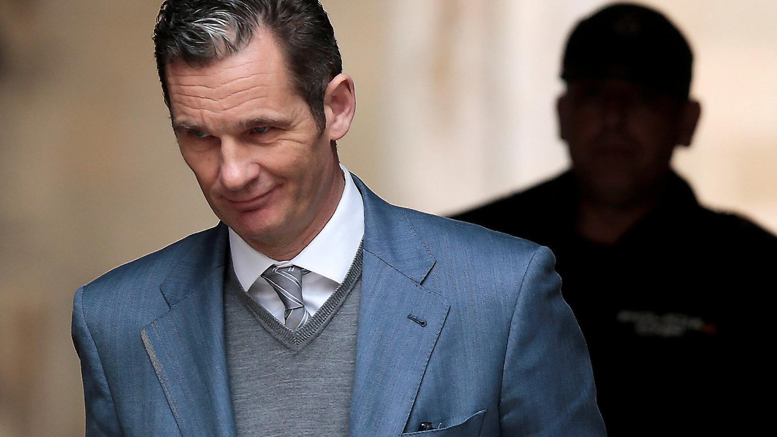Urdangarin ja ha arribat a Palma per recollir l'ordre d'ingrés a la presó