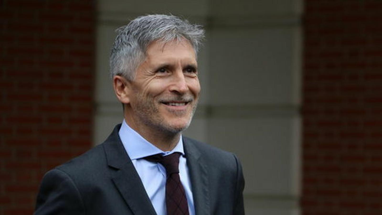 """Marlaska defensa que la violència a Catalunya ha sigut de """"molt més impacte"""" que al País Basc"""