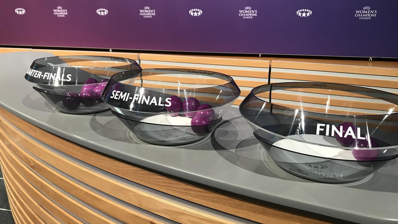 Sorteig de la Champions femenina