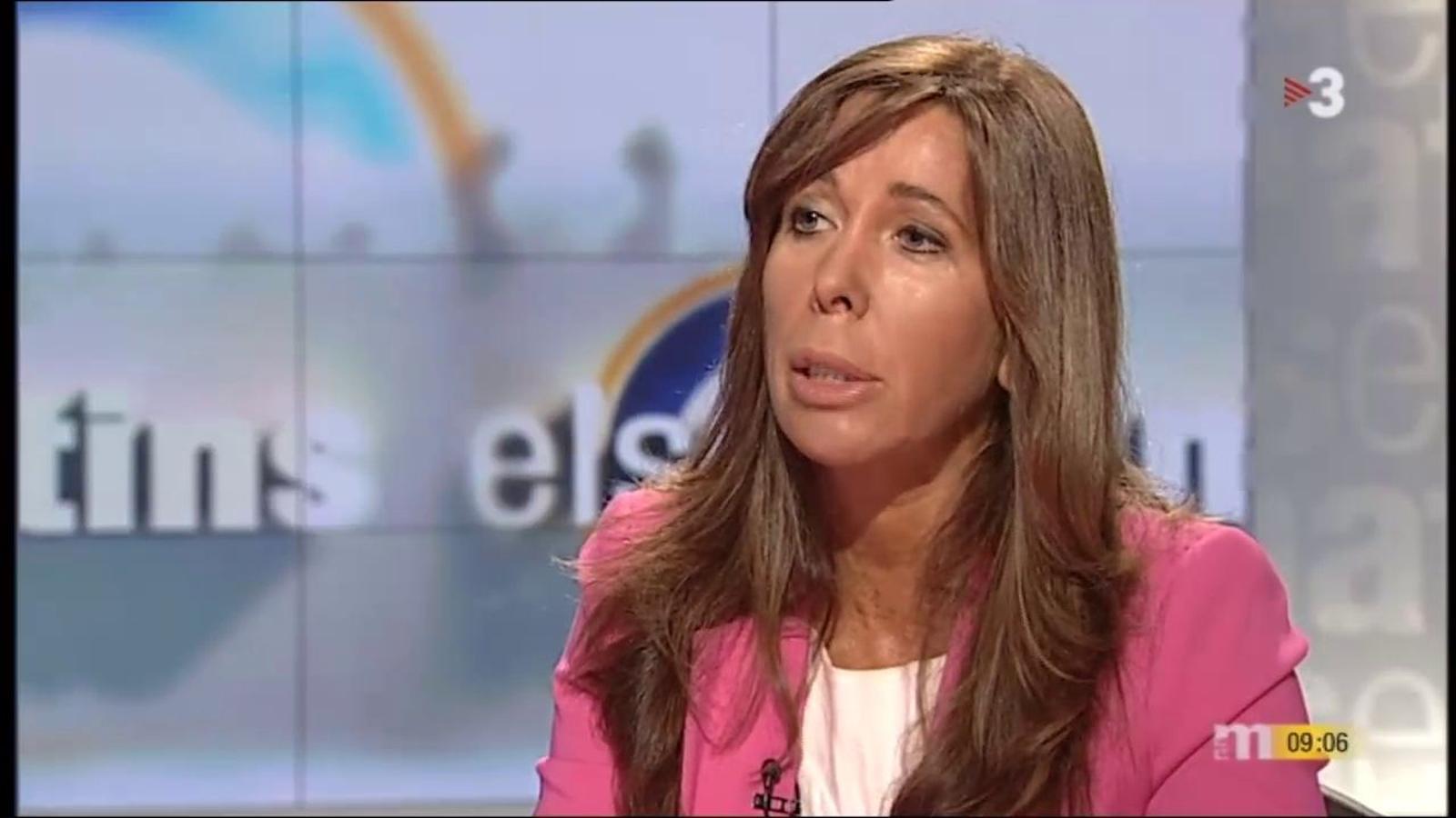 Sánchez-Camacho diu que no serà ministra amb Rajoy perquè té molta més feina a Catalunya