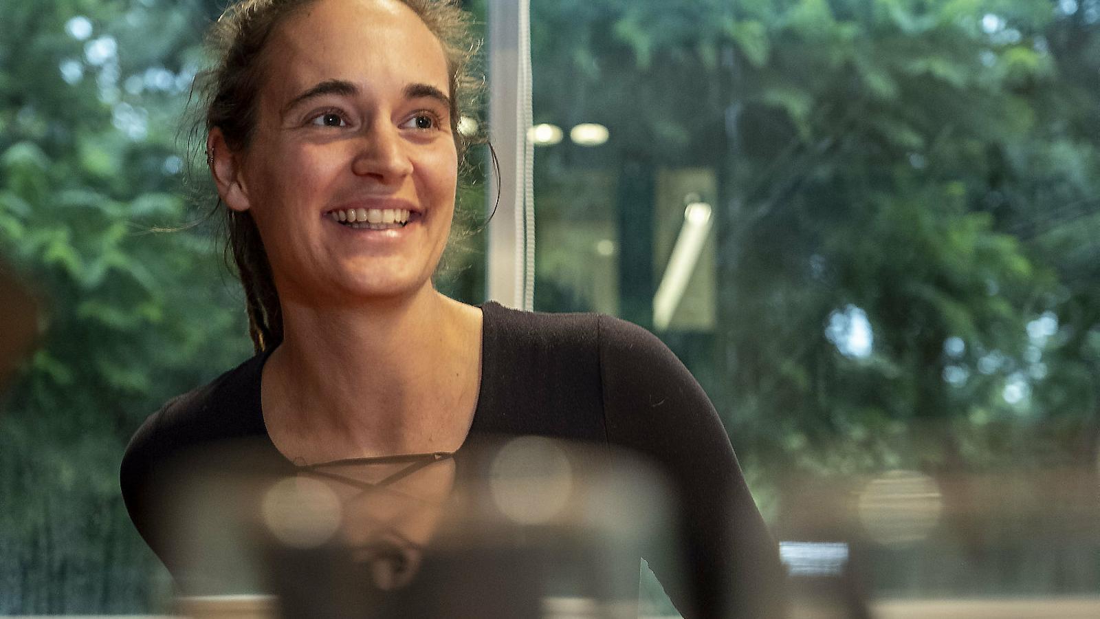 """Carola Rackete: """"La crisi climàtica ja és una crisi  de drets humans"""""""