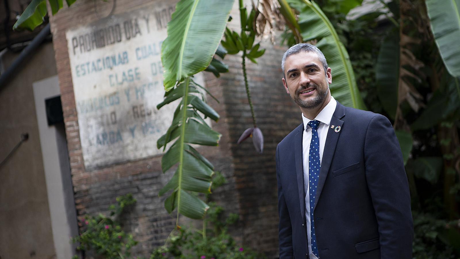 """Bernat Solé: """"El departament estava dolgut i ferit i, per tant, ha calgut un esforç d'empatia"""""""