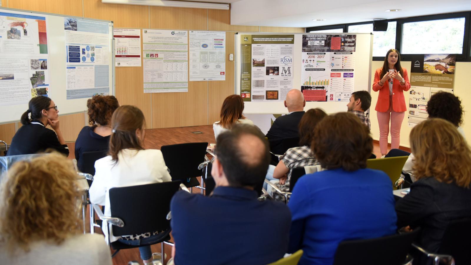 Onzè Seminari de recerca, celebrat aquest divendres a la Universitat d'Andorra. / UDA