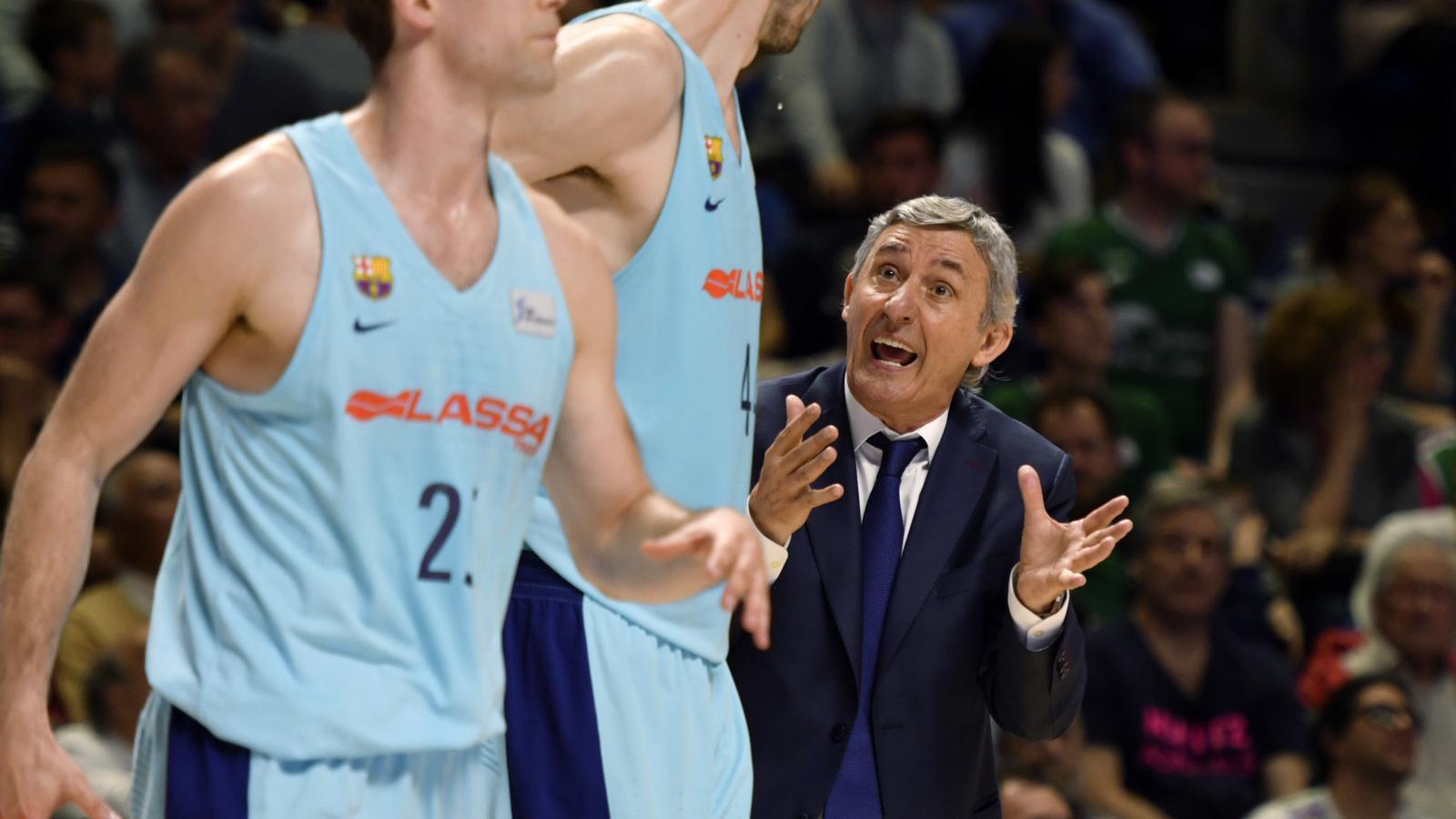 El Barça Lassa, molt molest amb l'arbitratge de Màlaga