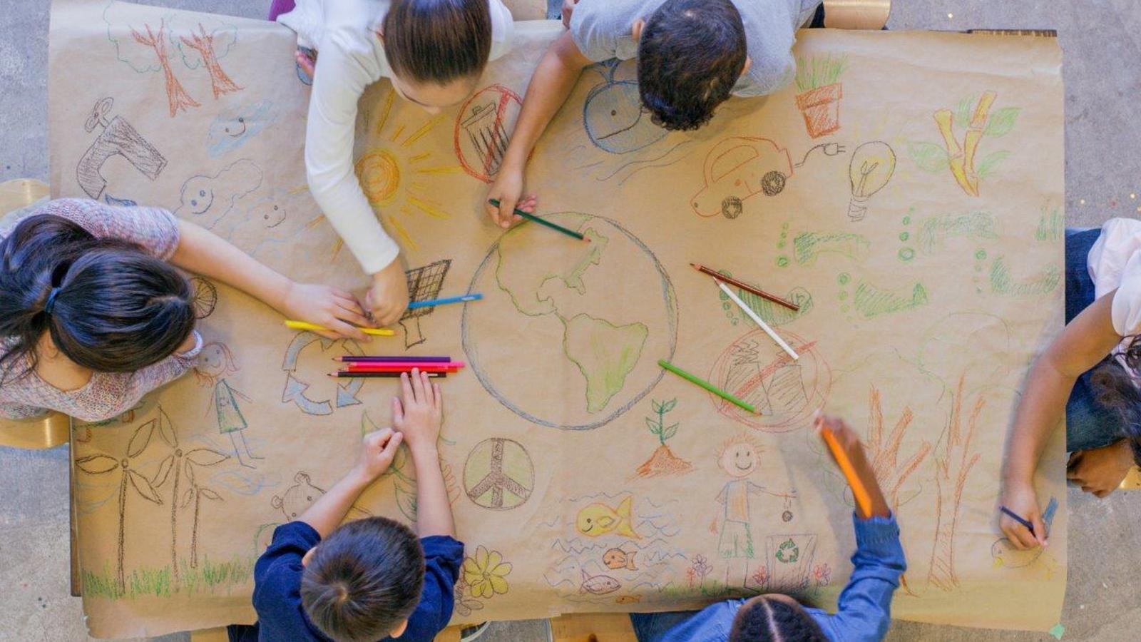 Els joves prenen consciència de la necessitat de preservar el planeta