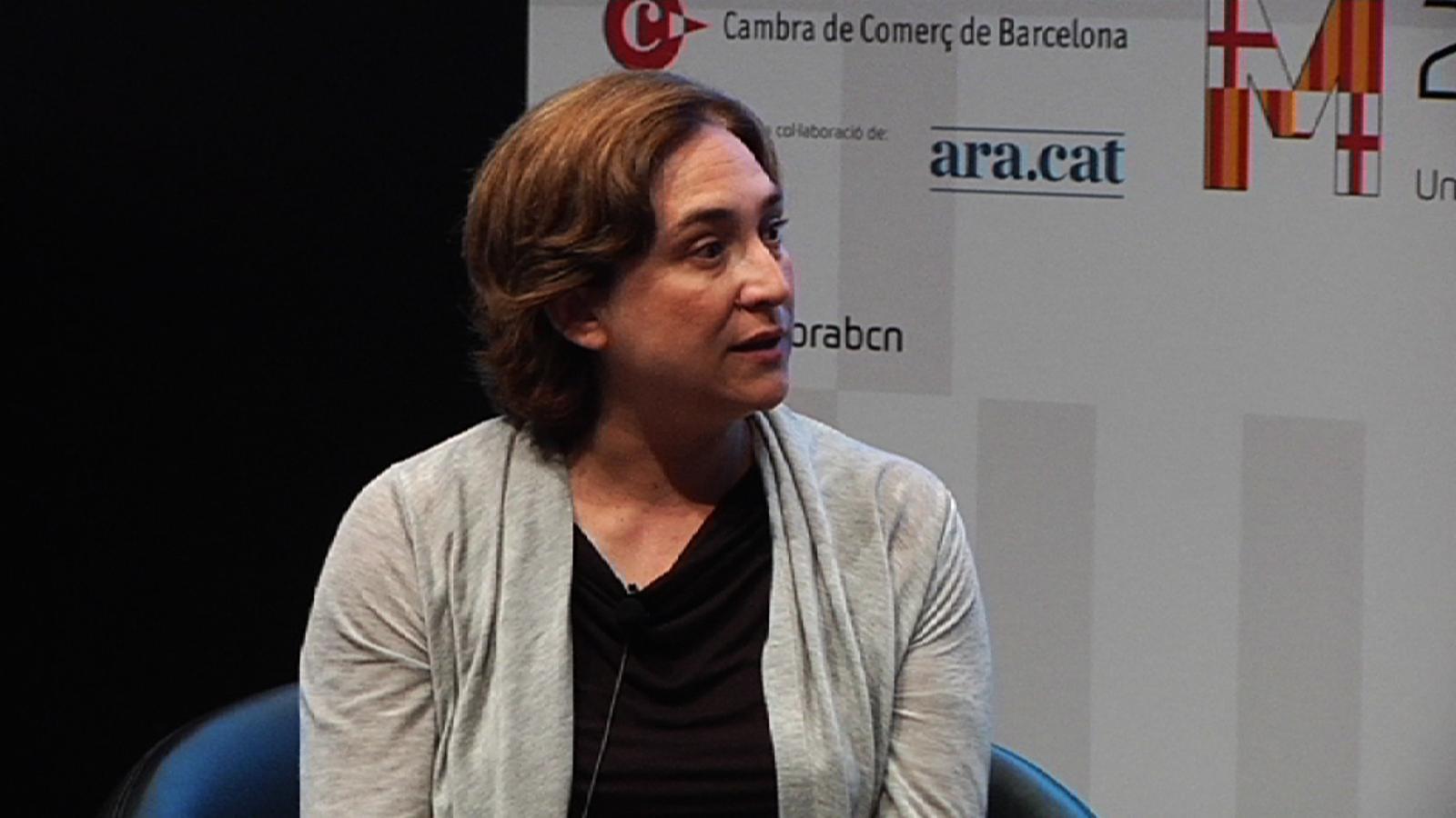 Ada Colau: Ciutadans és un intent de modernitzar el PP, no són nous