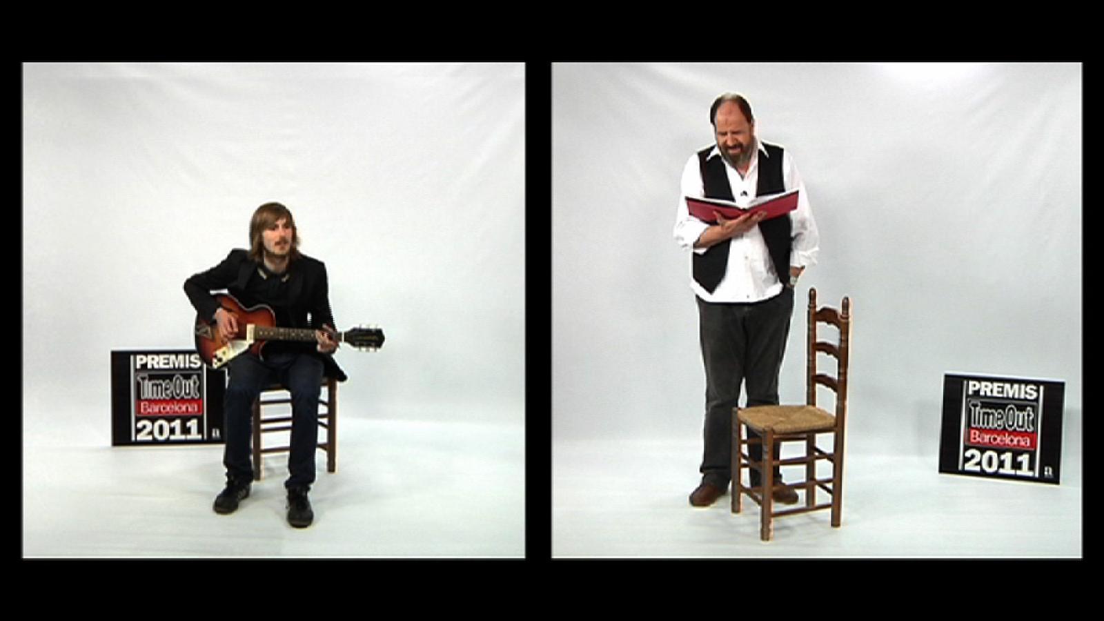 Nao Albet i Josep Maria Pou musiquen un text de Manuel Vázquez Montalbán