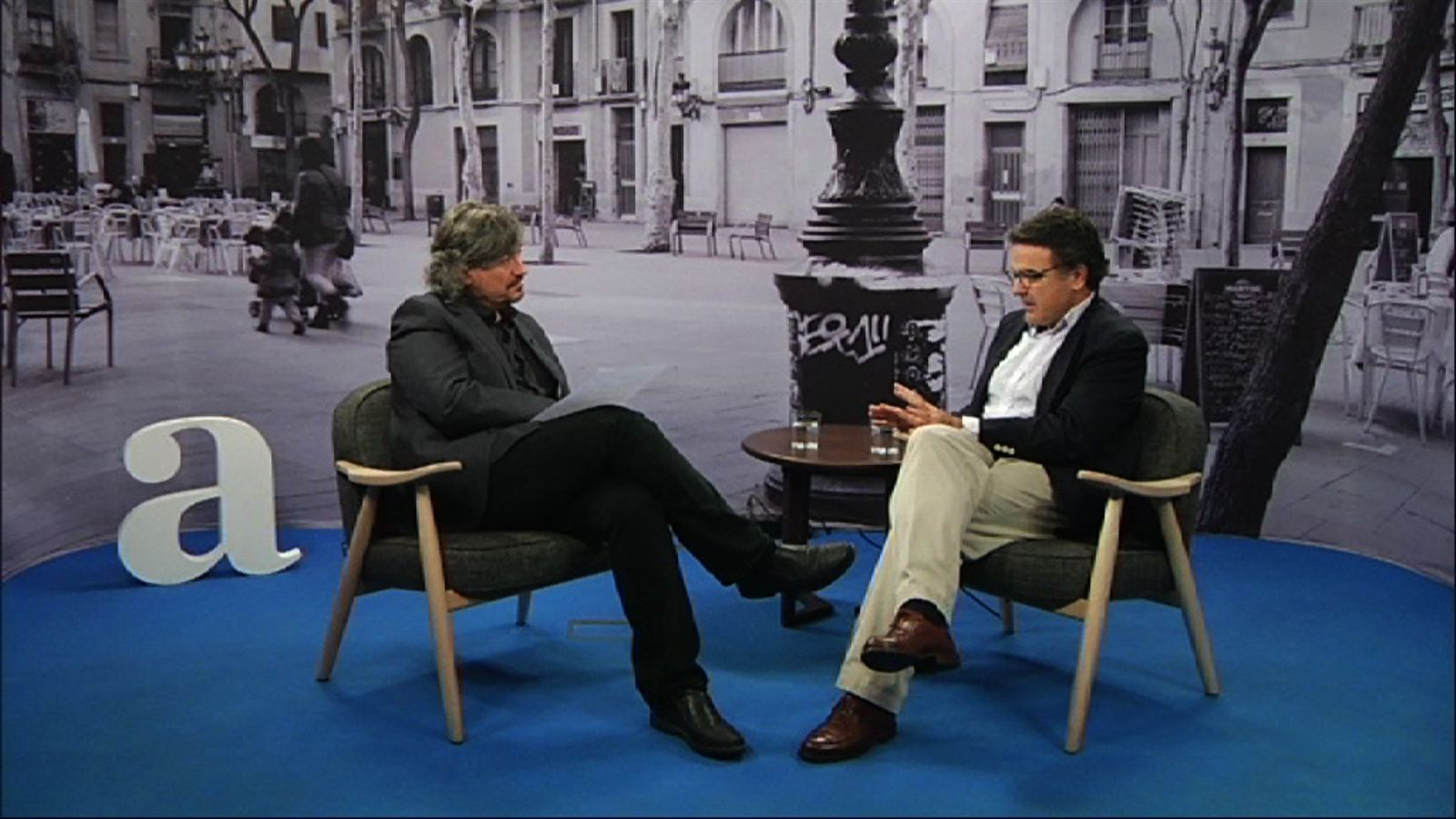 Entrevista de Carles Capdevila a Rafael Vilasanjuan