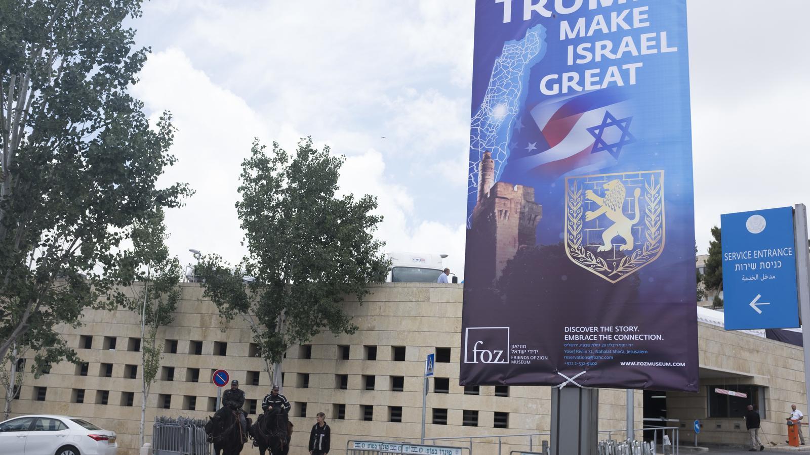 Per què el trasllat de l'ambaixada dels Estats Units a Jerusalem és un gest d'alt voltatge?