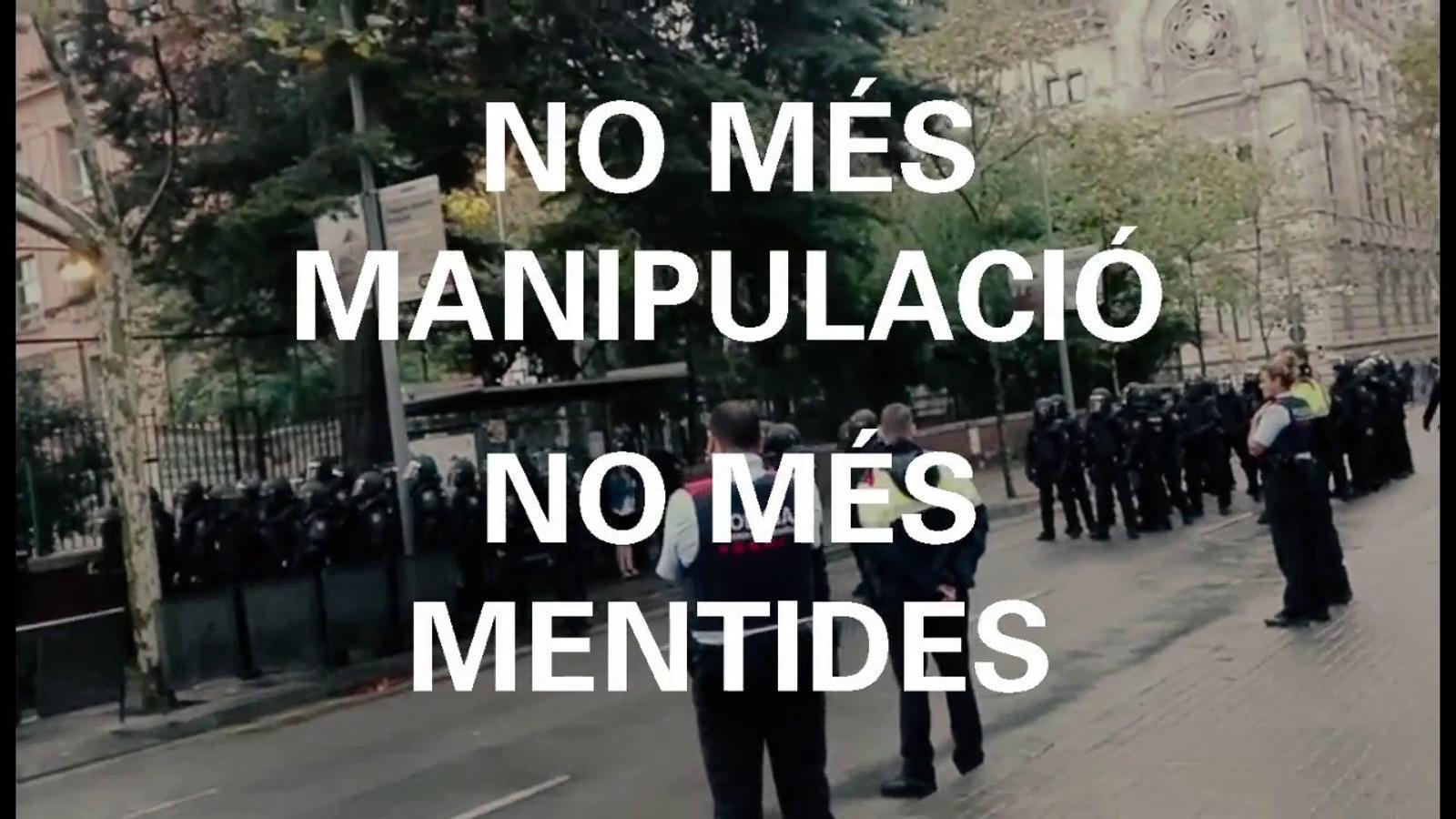 'Nosaltres hi érem': la crònica de la violència policial a l'institut Ramon Llull