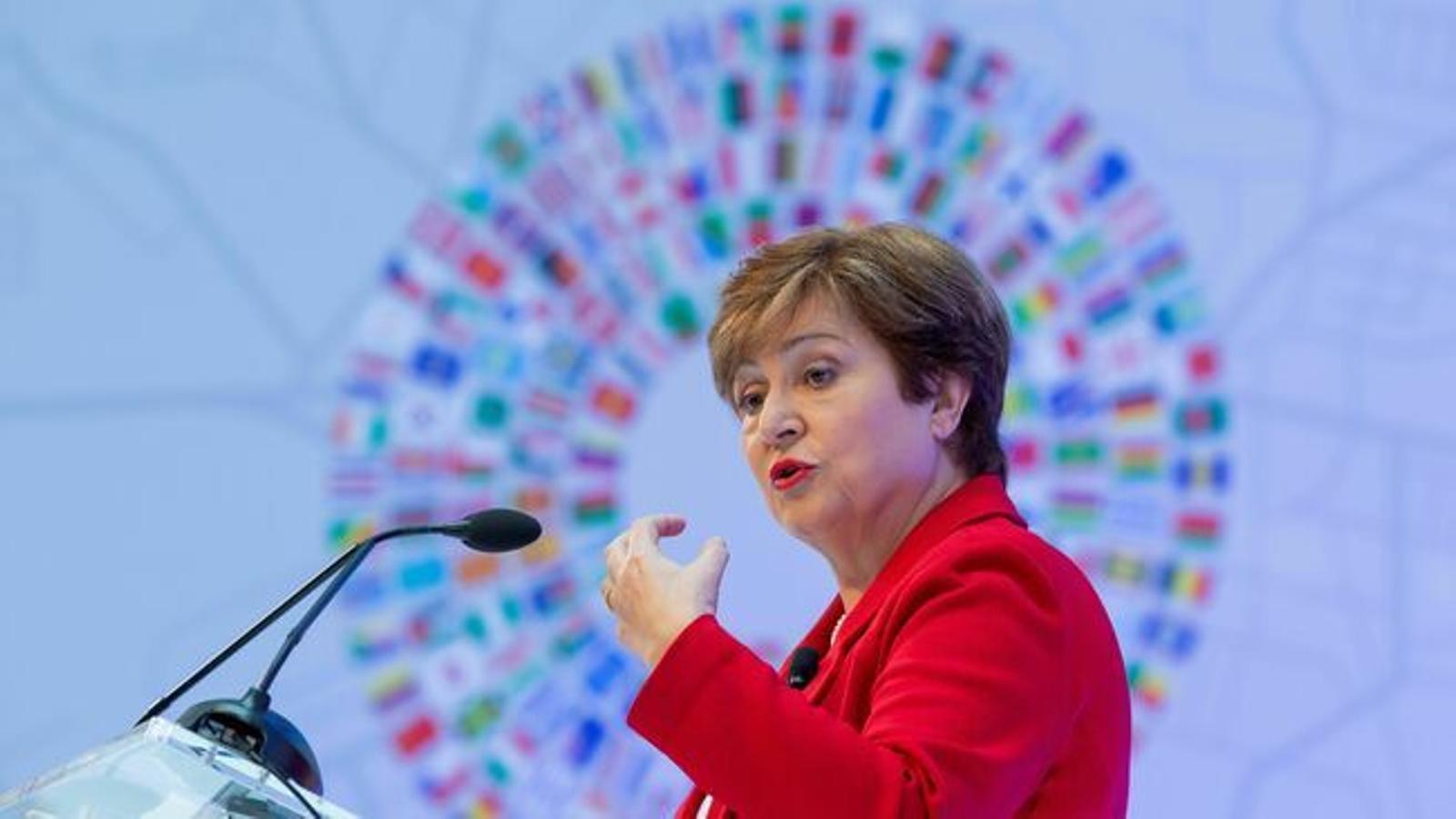 La directora gerent de l'FMI, Kristalina Georgieva.