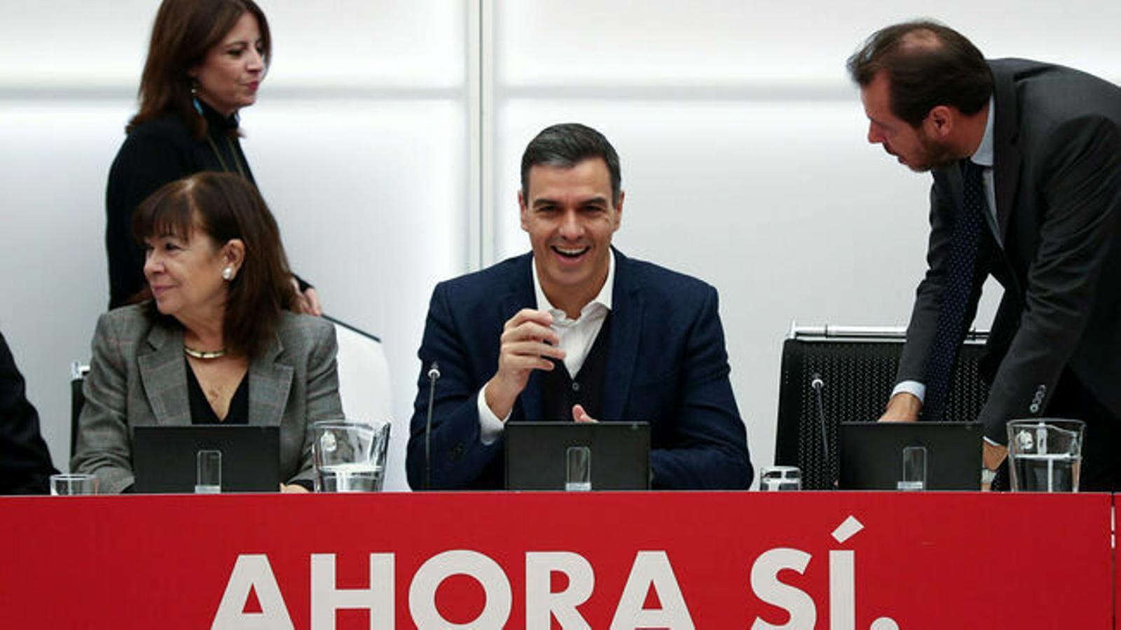 Sánchez intentarà la investidura sense el PP ni els independentistes