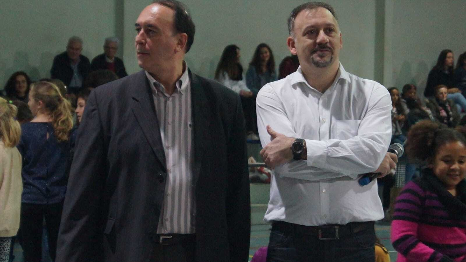 Pepe Aneas, a la dreta