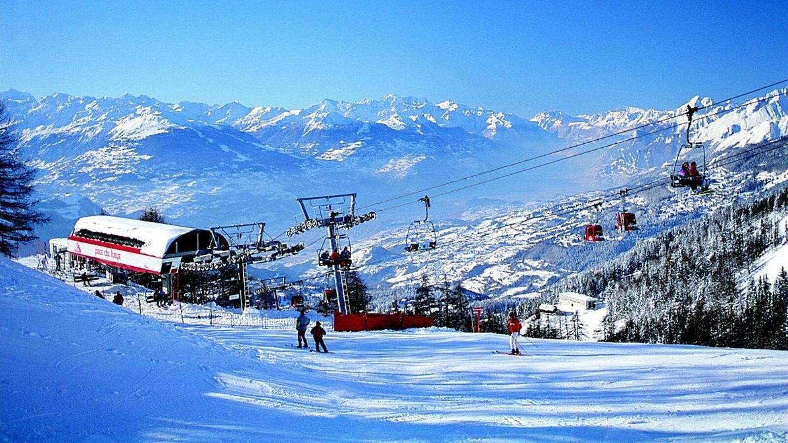 l'estació d'esquí alpina de Crans-Montana.