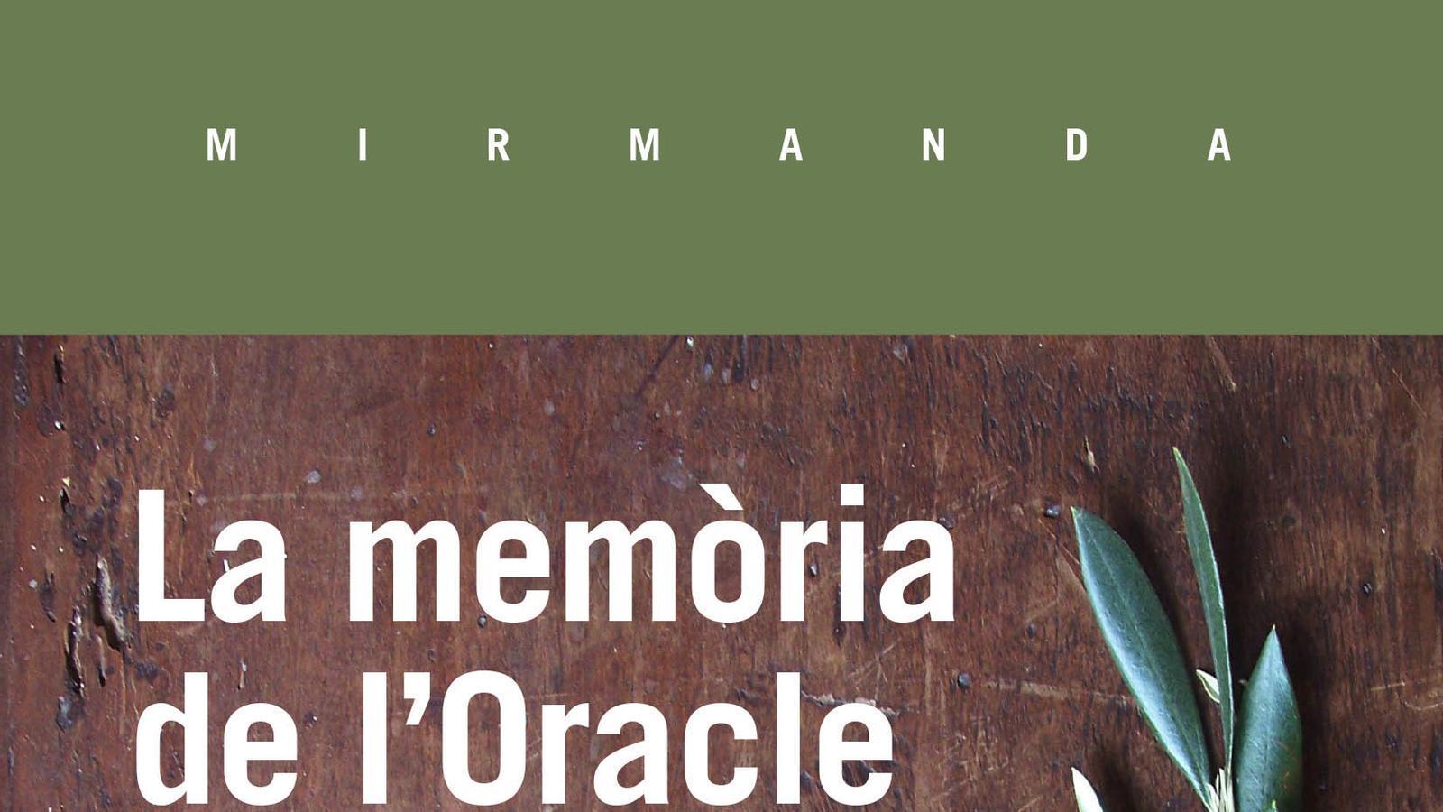 Pere Joan Martorell presenta 'La memòria de l'oracle', Premi Mallorca de Narrativa 2017
