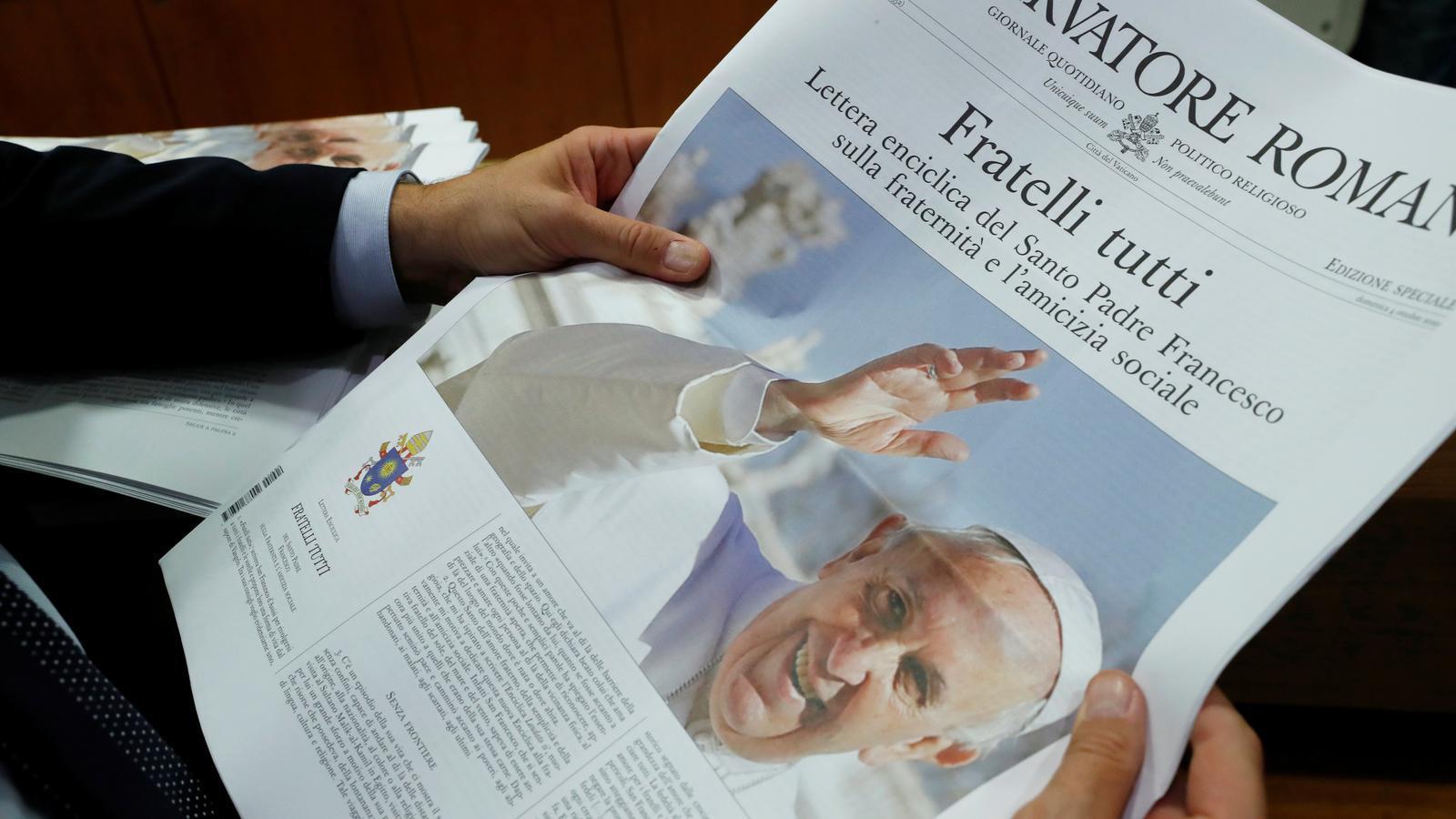 """El Papa condemna el populisme i els nacionalismes: """"La història està tornant enrere"""""""