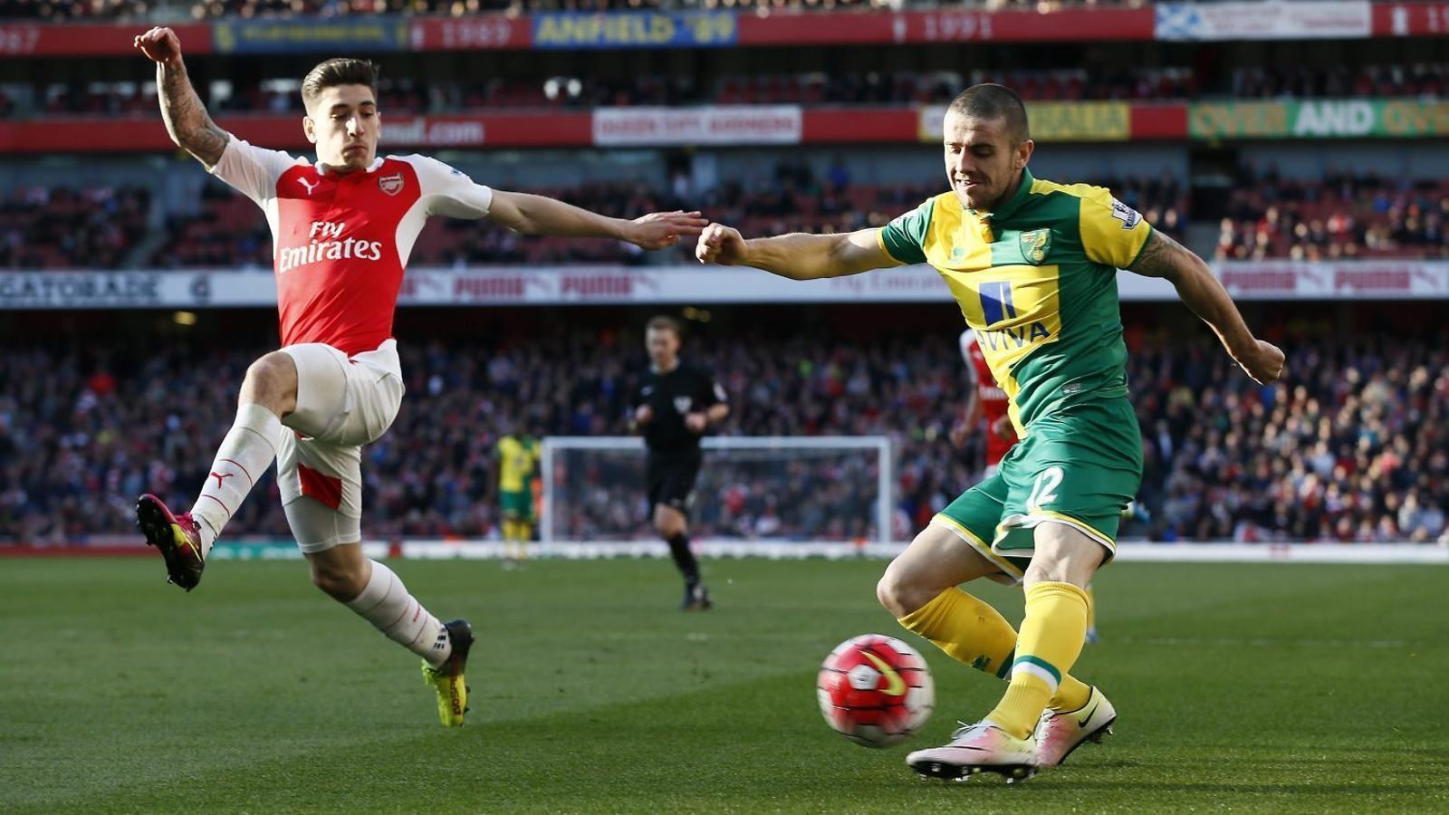 Bellerín, de l'Arsenal, fa 5 anys que juga al Regne Unit.