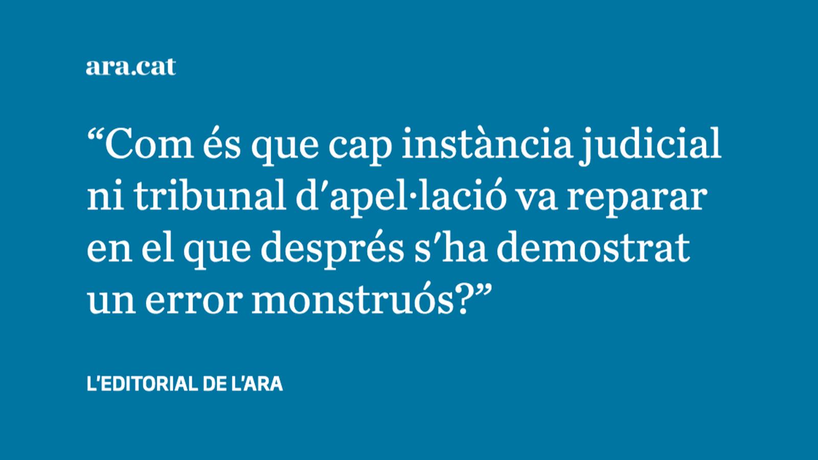 El cas Rosell, un escàndol que malmet la imatge de la justícia espanyola