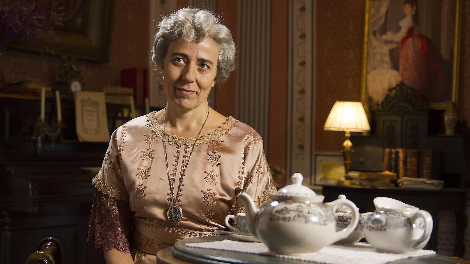 Caterina Albert i Carmen Balcells al 'Sense ficció' d'aquest dimarts