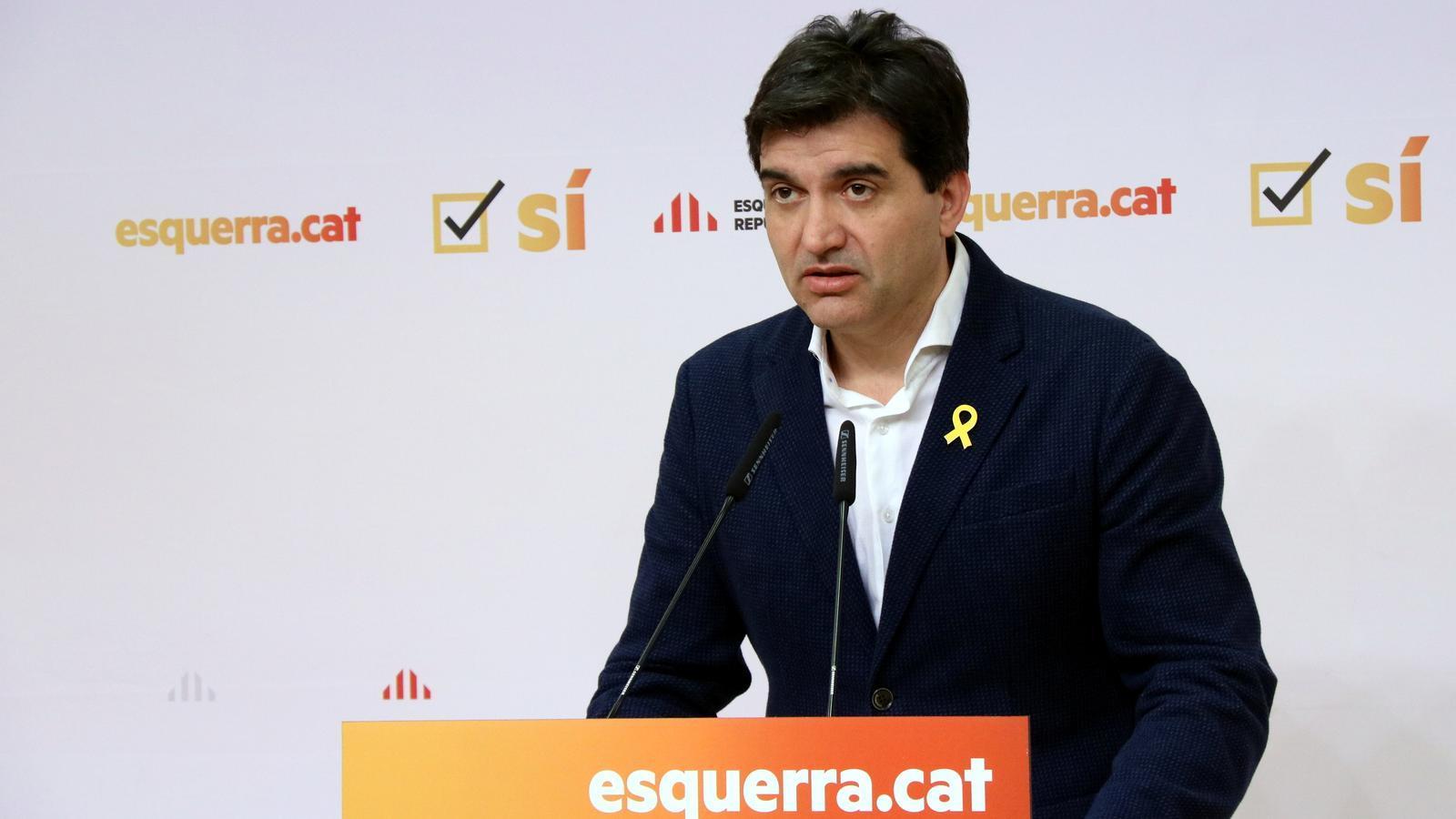 ERC urgeix  a fer govern sense esperar Sànchez