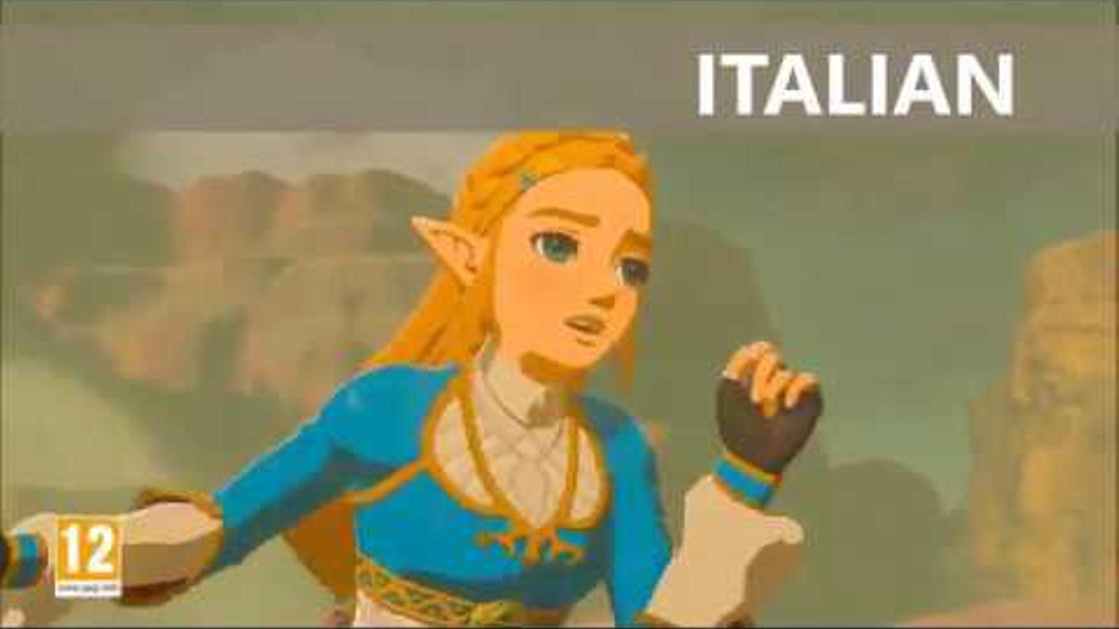 La princesa Zelda
