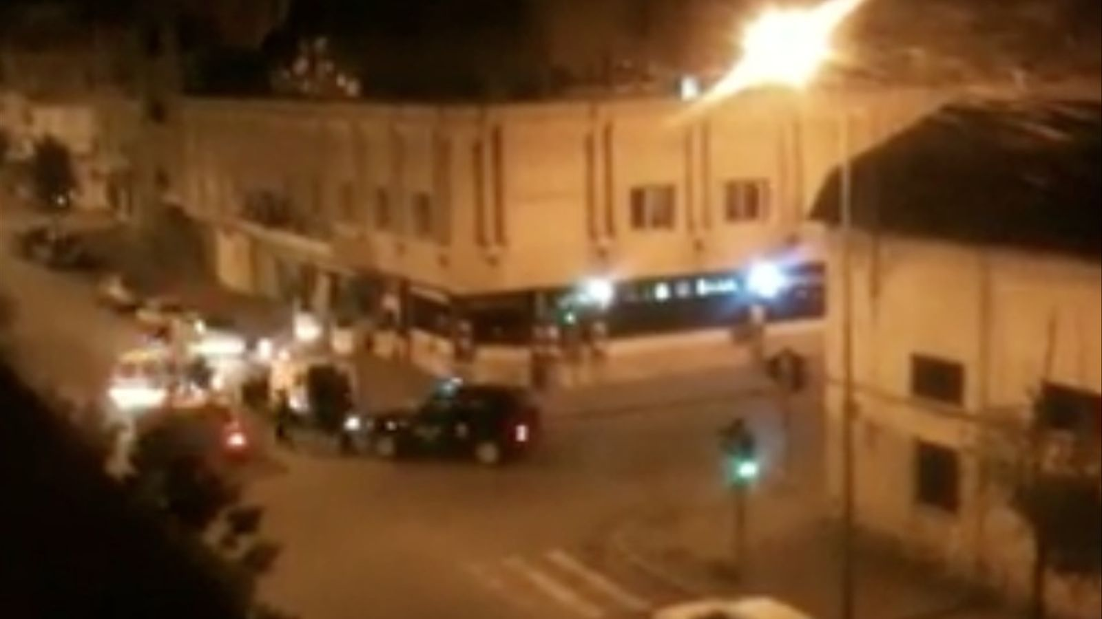 Actuació de la policia de Tunísia