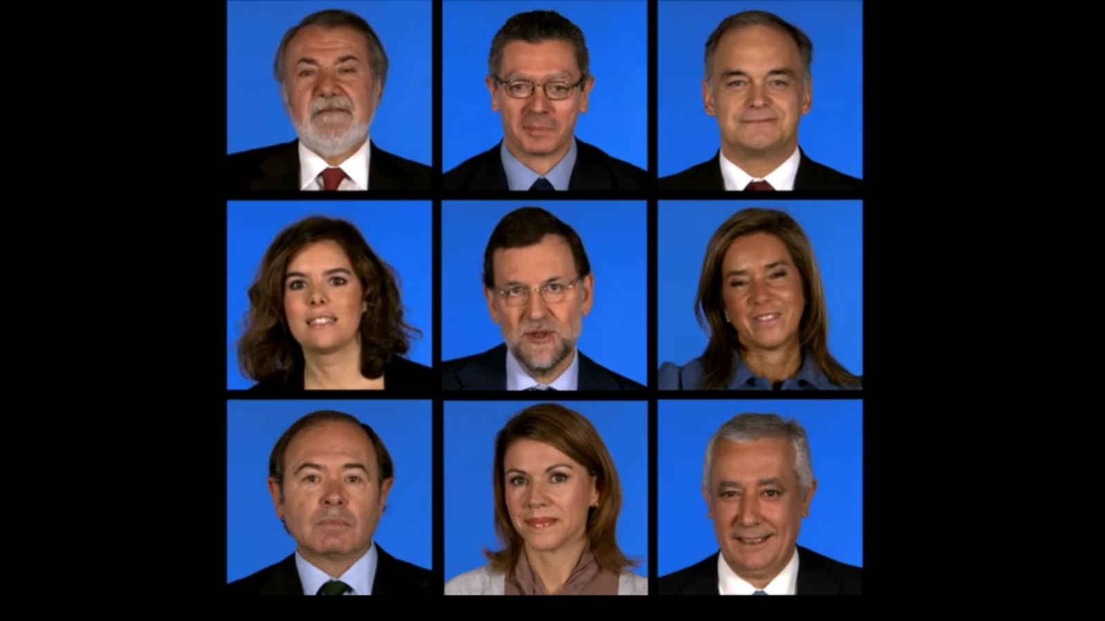 Vídeo de Nadal del PP inspirat en 'The Brady Bunch'