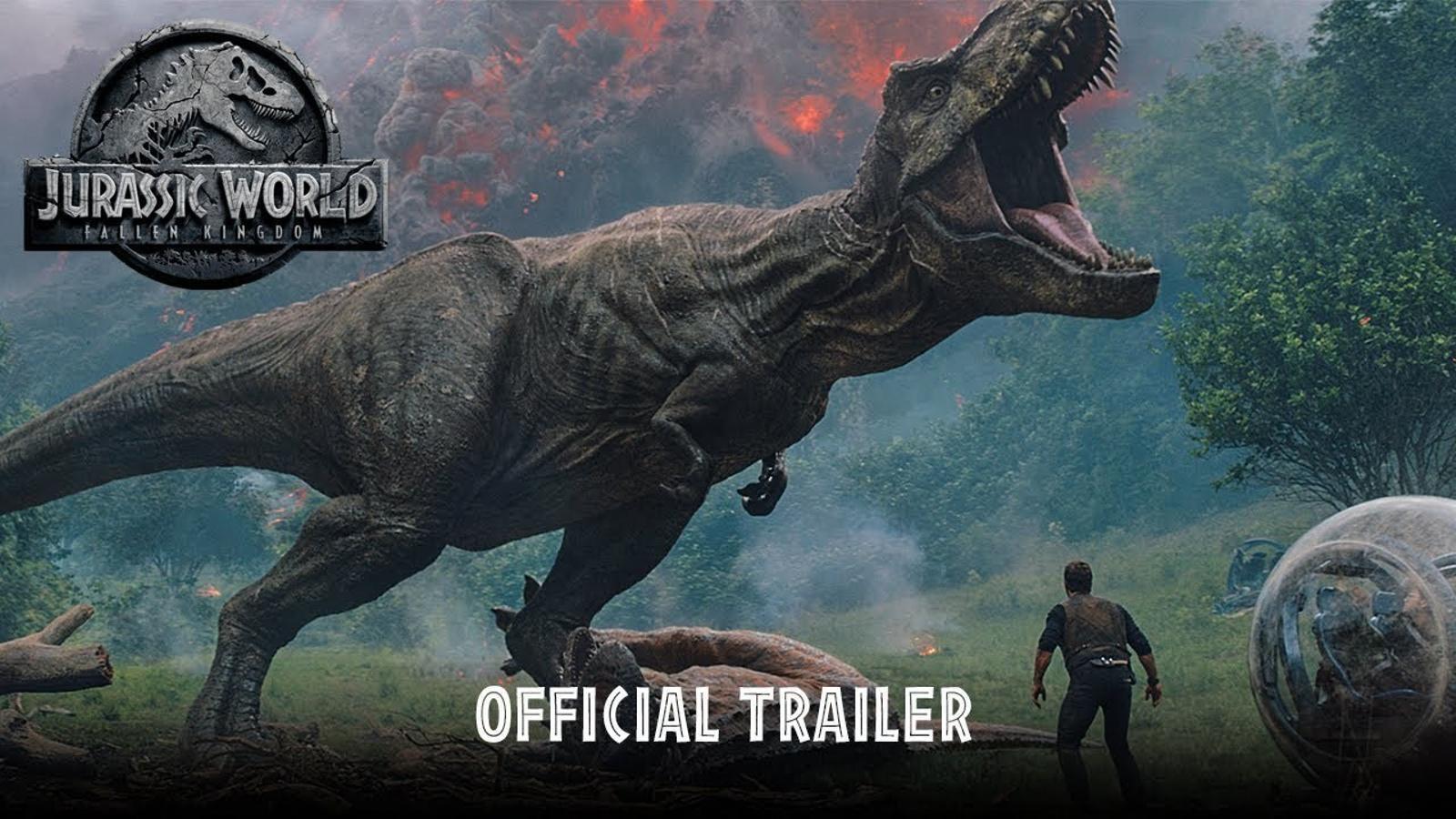 Tràiler de 'Jurassic World. El reino caído', de JA Bayona