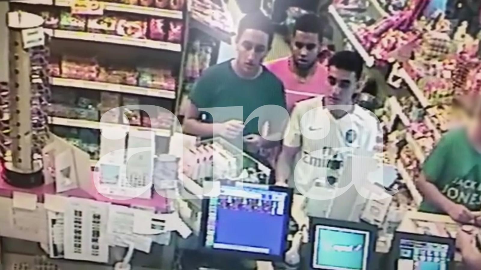 Les últimes imatges dels terroristes de Cambrils quatre hores abans de l'atemptat